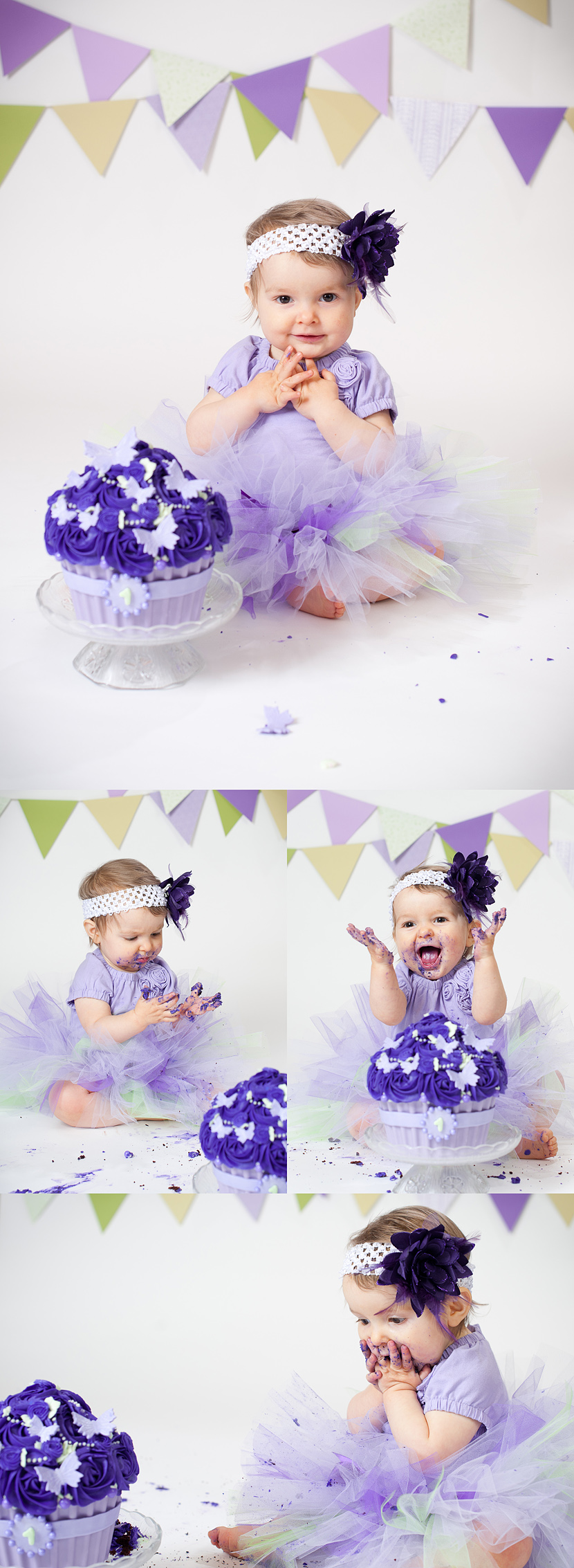 Lower Mainland cake smash photography