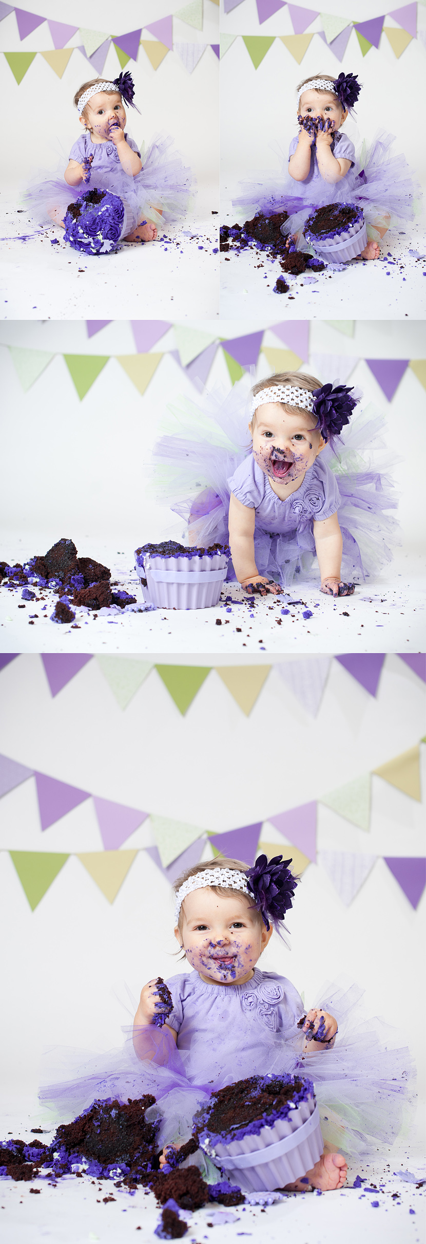Langley cake smash photographer