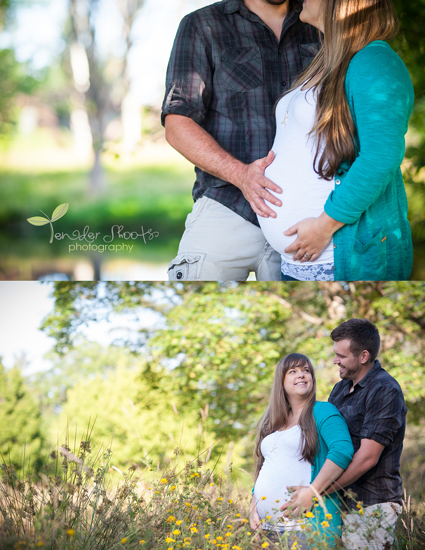 Langley maternity photography