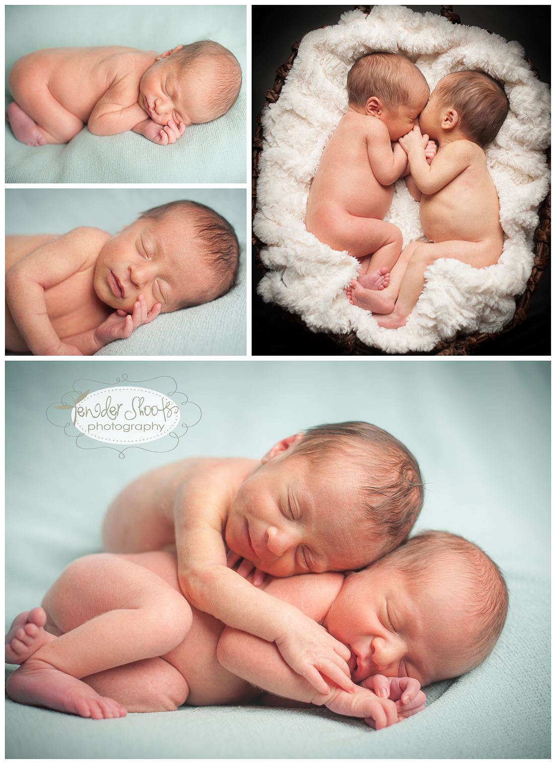 Tender Shoots Photography Newborn Twin Boys